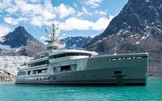 Looking for the ultimate in luxury heli-ski vacations? How about a super-yacht?