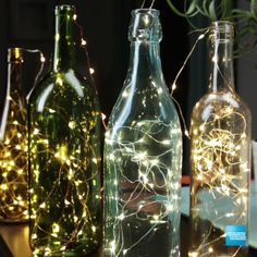 Need a living room upgrade? We teamed with Buzzfeed to give you three DIY projects to upgrade your house, home, or apartment. Welcome visitors with the welcoming scents of lemon, rosemary, and vanilla. Set the mood with twinkling bottle lights. And create a rustic centerpiece decoration with dried wheat wrapped in colorful string. Party guests will love it! Get cash back on purchases with the Blue Cash Everyday Card from American Express. Terms apply. Click the pin to learn more…