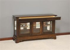 Amish Curio Cabinet With Mirror Back | Furniture | Pinterest | Glass  Shelves And Shelves