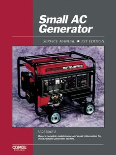 Maintenance and repair procedures for small generators under 13 kw and driven by air-cooled engines produced from 1990-1999....