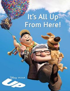 "Tell the graduate in your life that they are headed up in the world with this wonderfully ""UP""-lifting card and frame set. Details: http://www.disneymovierewards.go.com/rewards/browse/search/all?q=gradcards&sort=pl&page=1&cmp=DMR
