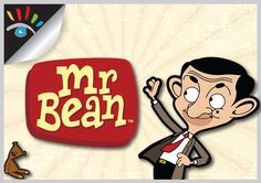 Mr. Bean and Teddy Bear - cartoon.