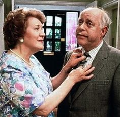 Keeping Up Appearances-- a hilarious British comey.  LOVE this show