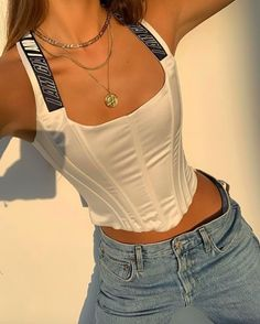 French Fashion Tips .French Fashion Tips Cute Casual Outfits, Retro Outfits, Stylish Outfits, Summer Outfits, Aesthetic Fashion, Aesthetic Clothes, Look Fashion, Mode Outfits, Fashion Outfits