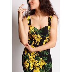 Robe Mimosa Dolce&Gabbana Spring Summer 2015