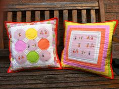 Tutorial for Nursery Versery cushions (pillows) from Poppy Makes
