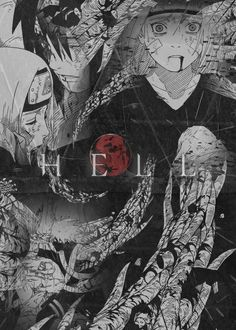 This place...Where am I? I see...I am in hell. -Obito Uchiha #naruto