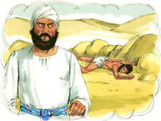 Parable of the Good Samaritan :: Jesus tells a parable about a Samaritan who, unlike a Jewish Priest and a Levite, stops to help a Jew who has been attacked and robbed (Luke Bible Story Crafts, Bible Crafts For Kids, Bible Lessons For Kids, Bible Stories, Kids Bible, Good Samaritan Bible Story, The Good Samaritan Lesson, Christian Stories, Christian Messages