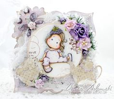 ♥ DeeDee's Card Art ♥ Fruit Salad Collection with Grape Tilda