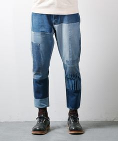 CROPPED BORO DENIM 3YR WASH