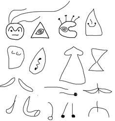 Formas usadas por Miro.