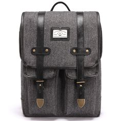 Herringbone Backpacks College Backpack for Men School Bags LODIS 140…
