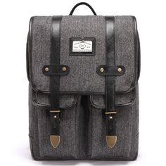 Herringbone Backpacks College Backpack for Men School Bags LODIS 140…