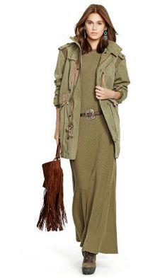 Veste utilitaire popeline de coton - Polo Ralph Lauren Vestes décontractées - Ralph Lauren France