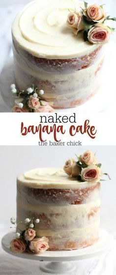 Naked Banana Cake More
