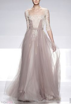 Tony Ward. I wish I wore such dress. Only once in a lifetime.