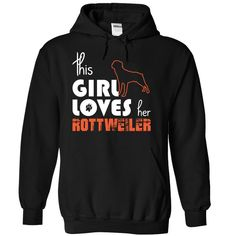This Girl Loves Her rottweiler T-Shirts, Hoodies. ADD TO CART ==► https://www.sunfrog.com/Pets/This-Girl-Loves-Her-rottweiler-vsmgi-Black-15025172-Hoodie.html?id=41382
