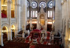 The Great Synagogue of Paris, also known as La Victoire Synagogue