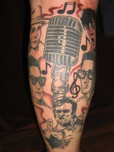 old rock and roll tattoos | Legends of Country Rock'n'Roll tattoo