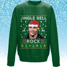 d9a91743de39 Funny Christmas Jumper, funny Xmas Jumper, Ugly Xmas Sweater, Ugly Christmas  Sweater, The Rock Christmas Jumper, Novelty Christmas Jumper,