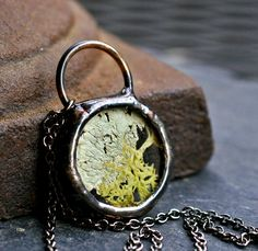 terrarium necklace love it! must try! find mini bottles, ring shanks, ball chains, memory frames at #ecrafty www.eCrafty.com