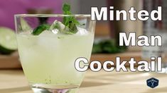 Like so many other contemporary cocktails where Vodka has replaced the original spirit - The Minted Man is essentially a Mojito, made with Vodka instead of r. Cocktail Videos, Cocktails, Drinks, Camera Phone, Glass Of Milk, Pudding, Mint, Tv, Desserts