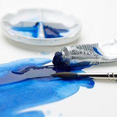 Such a pretty color! Winsor & Newton Professional Water Color Tube, 14ml, Antwerp Blue