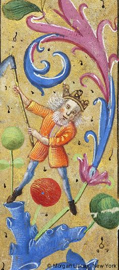 Book of Hours, MS M.6 fol. 36r - Images from Medieval and Renaissance Manuscripts - The Morgan Library & Museum