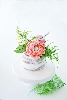 Naked mini cakes wit