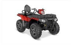 New 2016 Polaris Sportsman® Touring 850 ATVs For Sale in Connecticut. Hardest Working 78 HP ProStar® 850 Twin EFI Engine NEW! 50% Stronger front half shafts and 10% stronger front drive for increased durability NEW! High flow, high capacity air filter with better dust filtration to protect your engine Engine Braking System (EBS) with Active Descent Control (ADC) 4-wheel hydraulic disc brakes Improved High Performance Close Ratio On-Demand True AWD 1500 lbs. (682 kg) towing capacity 240…