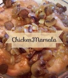 Chicken Marsala