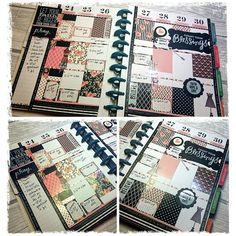 My #happyplanner layout for this week using stickers from #vintagegypsyroad & #meandmybigideas and #washi from #illustratedfaith. The how-to video should be up tomorrow! #planner #plannerlove #plannernerd #planneraddict #planning #vintage #MAMBI #thehappyplanner