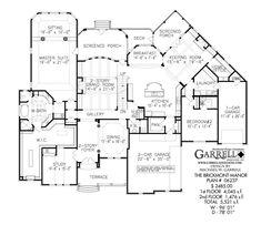 South Hampton Manor House Plan 04163 Keeping Room House