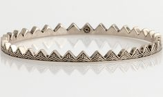 House Of Harlow Womens/Engraved Triangle Cuff