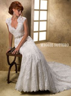 Carolina Bridal Gown - Maggie Sottero.... I am in love with this.. except a different belt