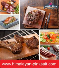We are trusted manufacturer and exporter of Himalayan grilling salt plates which are highly in used and become requirement of people. So many researches in Europe define how beneficial is Himalayan salt block grilling. For order Contact us: (+92) 311-1559111 Email: info@himalayan-pinksalt.com #himalayan_salt_wall #himalayan_salt_usblamp_exporter #himalayan_salt_manufacturer #himalayan_salt_exporter #himalayan_pinksalt_exporter #himalayanpinksalt #HimalayanEdibleSalt Himalayan Salt Plate, Himalayan Pink Salt, Salt Block Grilling, Grill Plate, Clean Grill, How To Cook Steak, Seafood, Plates, Cooking