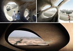 Projeto usa bactérias para criar abrigos para pessoas em desertos