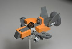 Micro Raiden-Style Fighter. More info and minifig scale coming soon.
