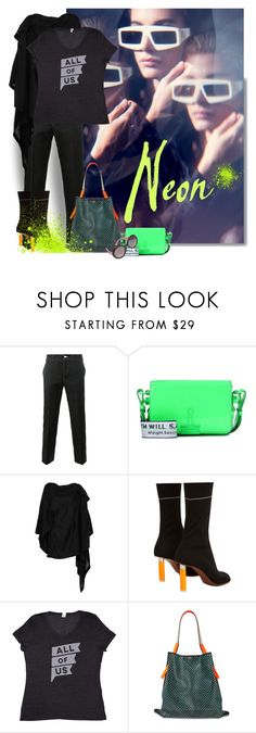 """two lethal bags? wear them both!"" by gabrielleleroy ❤ liked on Polyvore featuring Baldwin, Shiro Sakai, Off-White, Yohji Yamamoto, Vetements, All of Us, Kenzo, Tokyo Rose, Gucci and allblackoutfit"