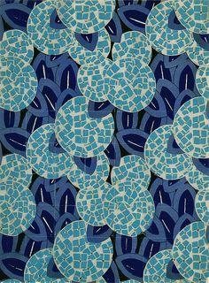 leuchtende Farbkombi in Blautönen: dunkelblau, Himmelblau, Aqua