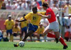 Faustino Asprilla, Colombia vs Switzerland 2 - 0, World Cup 1994.