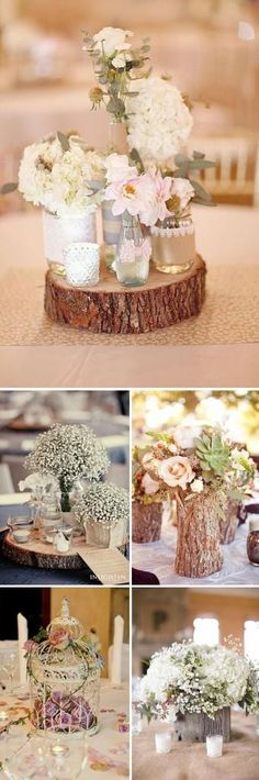 The Importance of Wedding Centerpieces to Your Wedding Reception Planning - Vera's Wedding Help Romantic Wedding Centerpieces, Garden Wedding Decorations, Wedding Table, Diy Wedding, Rustic Wedding, Wedding Flowers, Dream Wedding, Wedding Ideas, Elegant Wedding