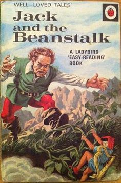 Ladybird Jack and the Beanstalk (1971) Well-Loved Tales Book - that giant still scares the hell out of me!