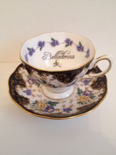 Poison Teacup by Occulence on Etsy