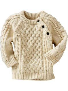 Baby Boys' Sweaters: cardigans, cotton sweaters, knit sweater vests, hoodies at babyGap Baby Girl Sweaters, Boys Sweaters, Aran Sweaters, Knitting For Kids, Baby Knitting Patterns, Handmade Clothes, Kind Mode, Crochet Clothes, Pulls