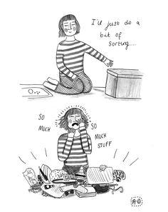 the problem of having stuff