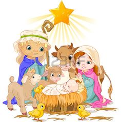 Find Christmas Nativity Scene Holy Family stock images in HD and millions of other royalty-free stock photos, illustrations and vectors in the Shutterstock collection. Thousands of new, high-quality pictures added every day. Christmas Manger, Christmas Nativity Scene, Christmas Night, Family Christmas, Clipart Noel, Cute Clipart, Nativity Clipart, Clipart Images, Bible Cartoon