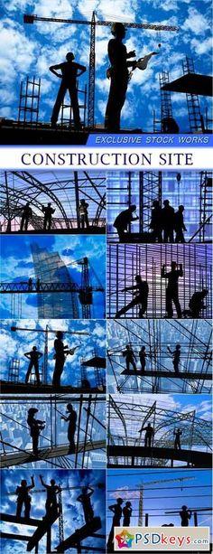 Construction site 10X JPEG 19 Mb