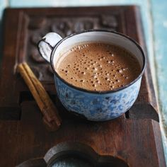 The perfect winter-warming drink - Hot Chocolate. Add whipped cream and…