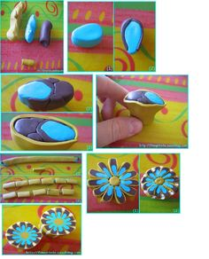 Flower possibilities  ~ Polymer Clay Canes